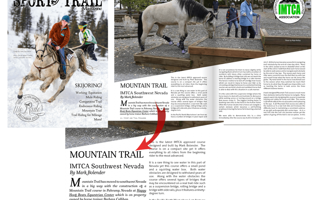 Mountain Trail IMTCA Southwest Nevada By Mark Bolender